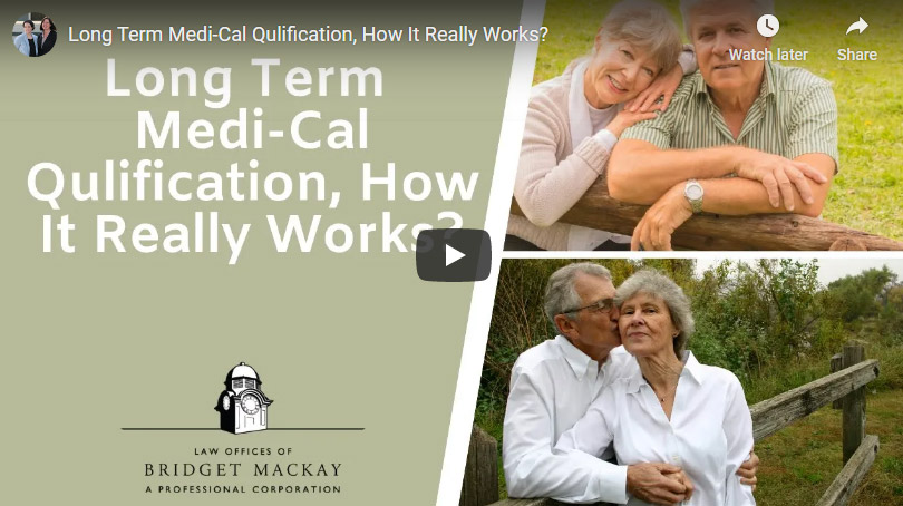 video titled how long-term care medi-cal qualification works
