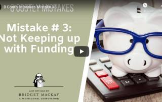 mistake 3 not keeping up with funding